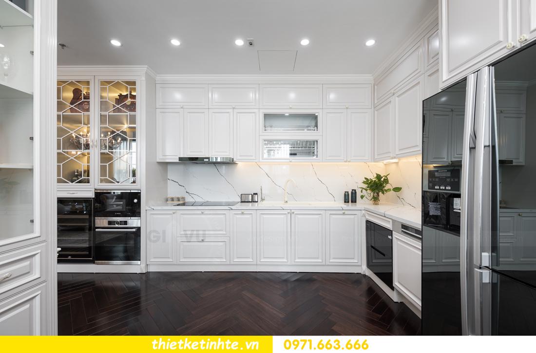 thi công hoàn thiện nội thất chung cư cao cấp Vinhomes Green Bay 13