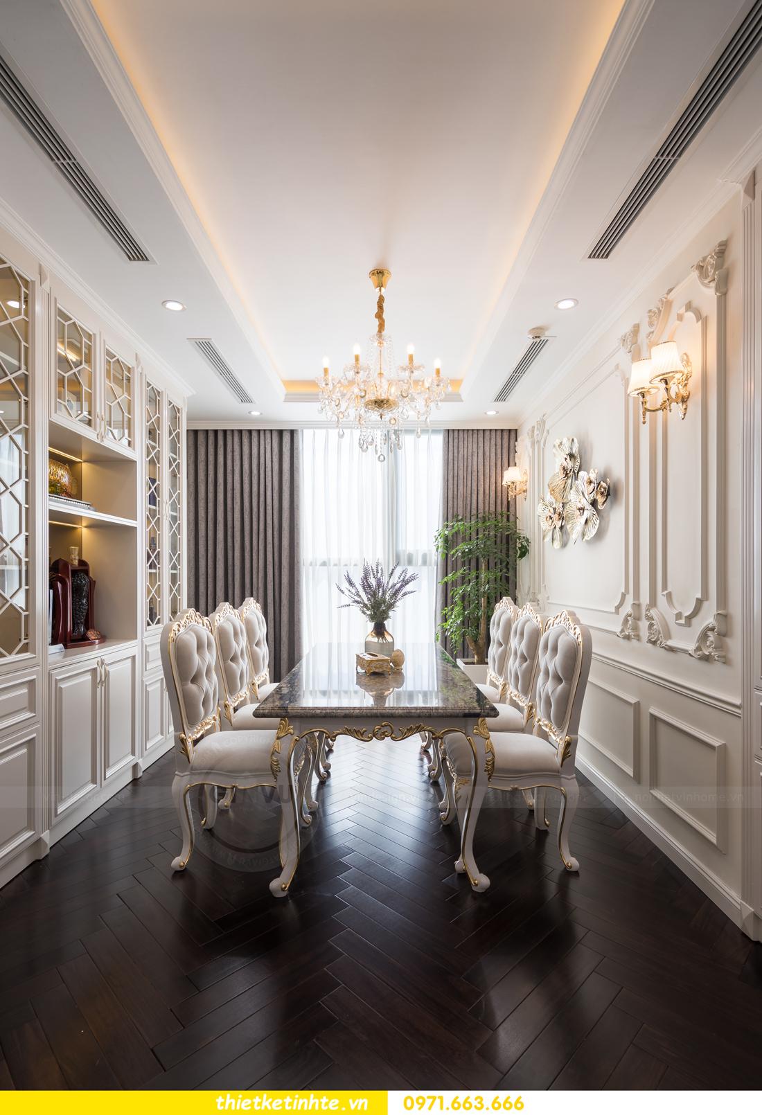 thi công hoàn thiện nội thất chung cư cao cấp Vinhomes Green Bay 14