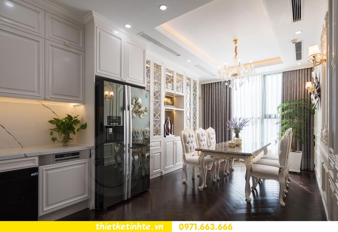 thi công hoàn thiện nội thất chung cư cao cấp Vinhomes Green Bay 16