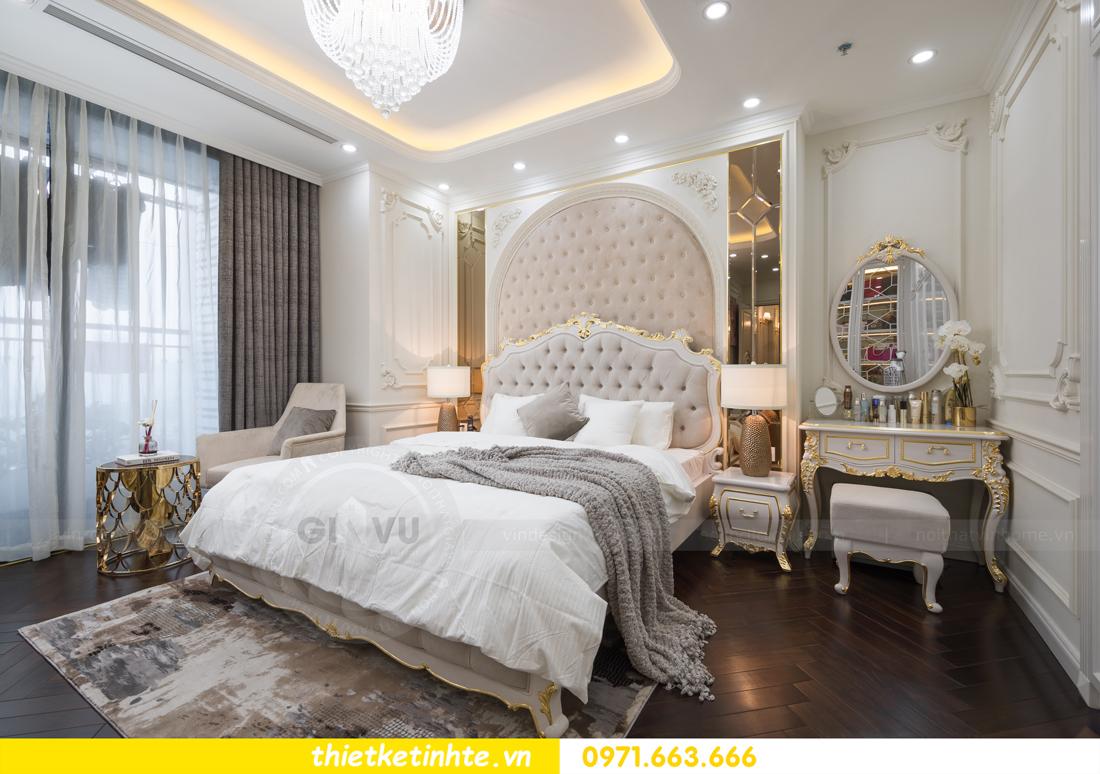thi công hoàn thiện nội thất chung cư cao cấp Vinhomes Green Bay 17