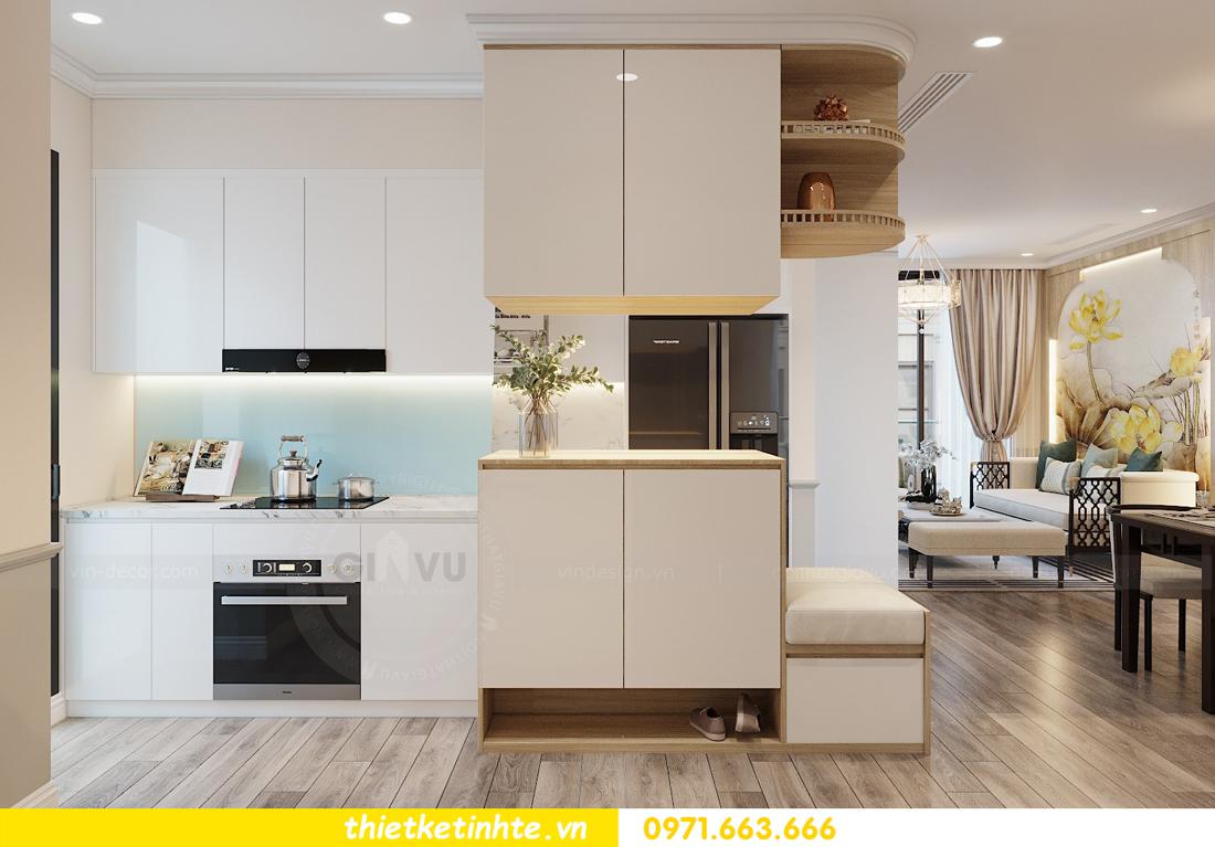 Thiết kế nội thất Á Đông tại chung cư Sky Lake tòa S3 căn 28 View 1