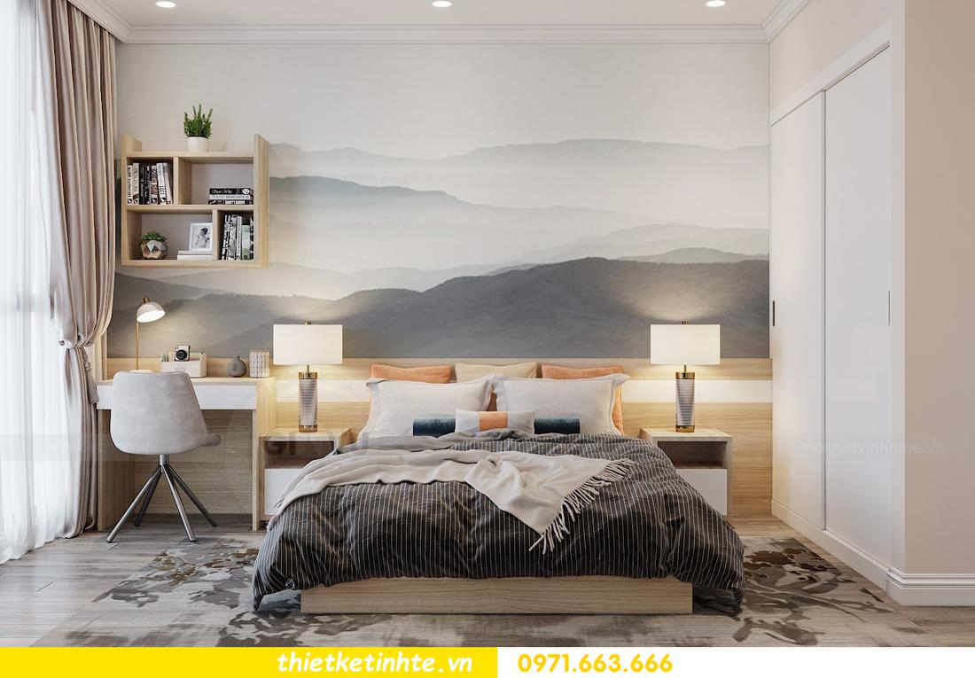 Thiết kế nội thất Á Đông tại chung cư Sky Lake tòa S3 căn 28 View 12