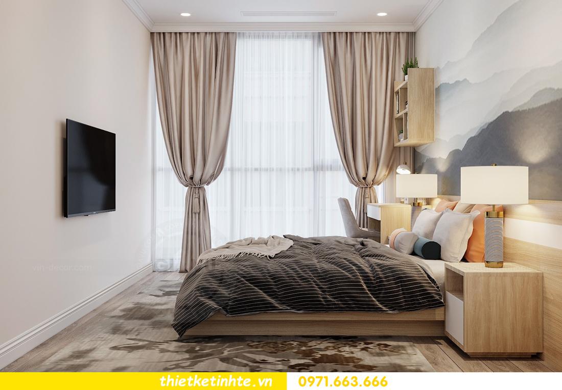 Thiết kế nội thất Á Đông tại chung cư Sky Lake tòa S3 căn 28 View 13