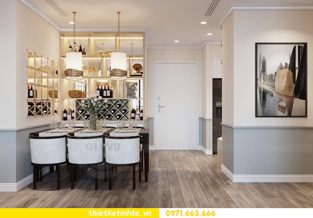 Thiết kế nội thất Á Đông tại chung cư Sky Lake tòa S3 căn 28 View 2