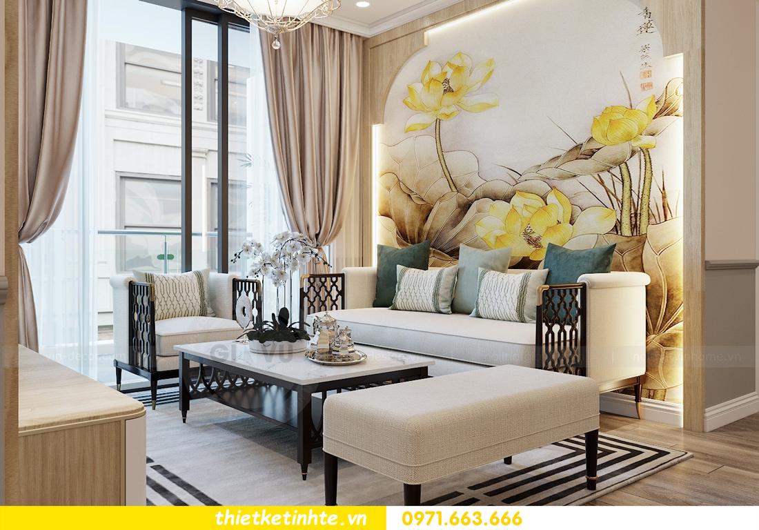 Thiết kế nội thất Á Đông tại chung cư Sky Lake tòa S3 căn 28 View 5