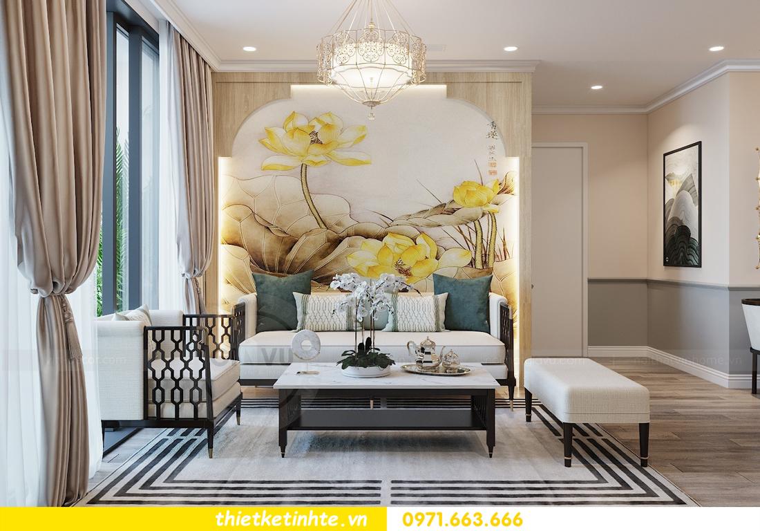 Thiết kế nội thất Á Đông tại chung cư Sky Lake tòa S3 căn 28 View 6