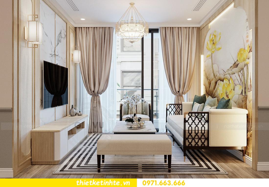 Thiết kế nội thất Á Đông tại chung cư Sky Lake tòa S3 căn 28 View 7