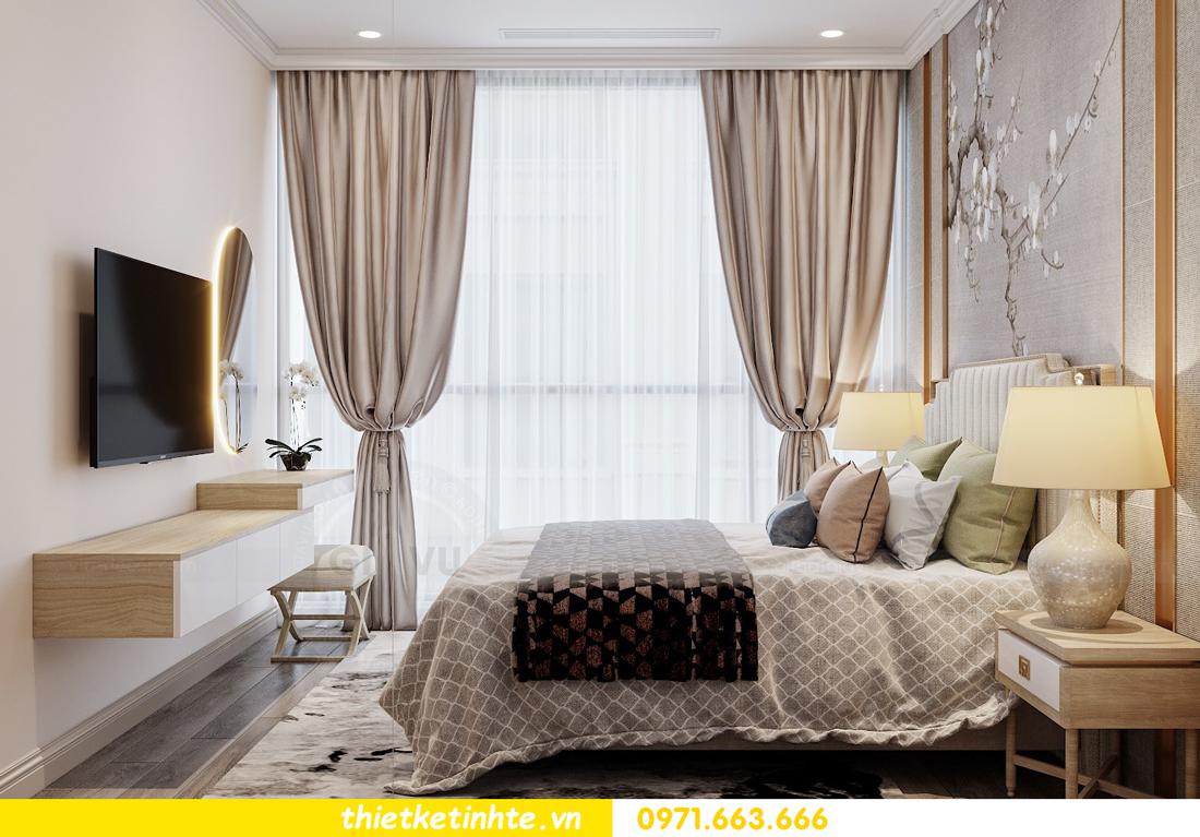 Thiết kế nội thất Á Đông tại chung cư Sky Lake tòa S3 căn 28 View 9