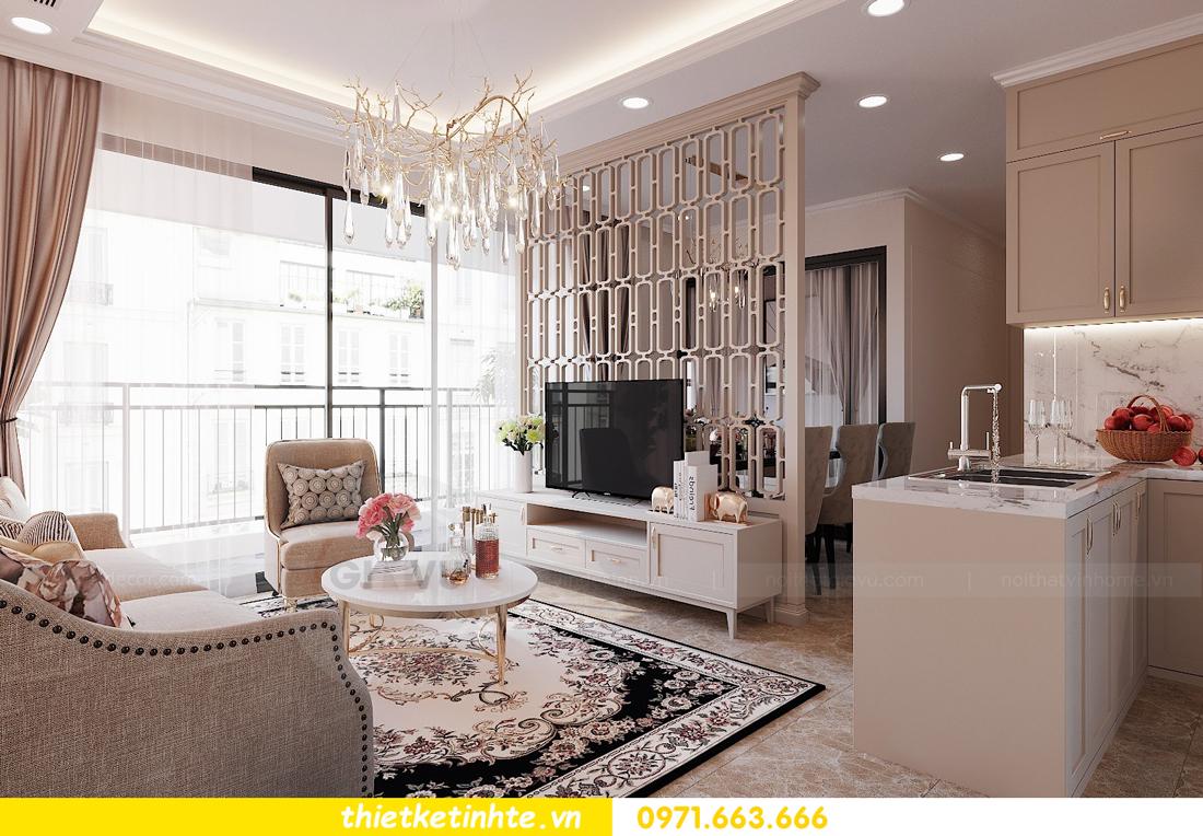 thiết kế nội thất căn 3 ngủ tòa C602 DCapitale 03