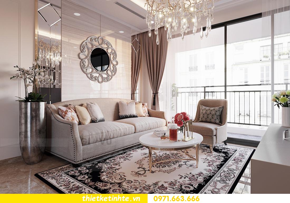 thiết kế nội thất căn 3 ngủ tòa C602 DCapitale 04