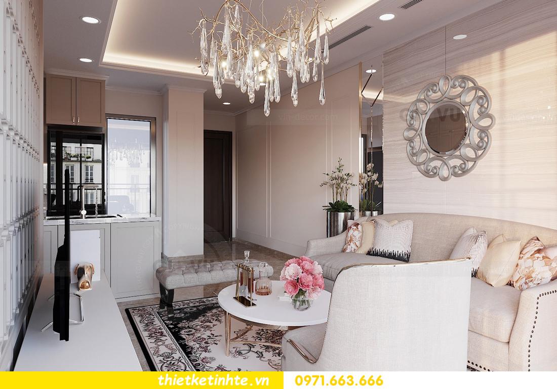 thiết kế nội thất căn 3 ngủ tòa C602 DCapitale 06