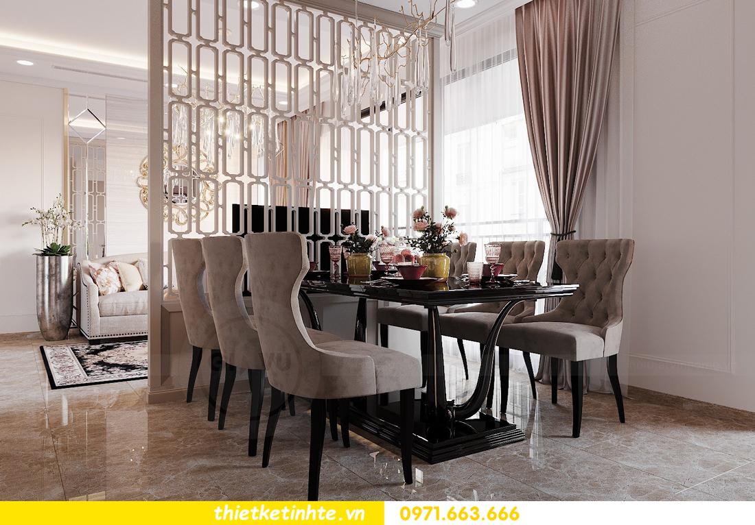 thiết kế nội thất căn 3 ngủ tòa C602 DCapitale 09