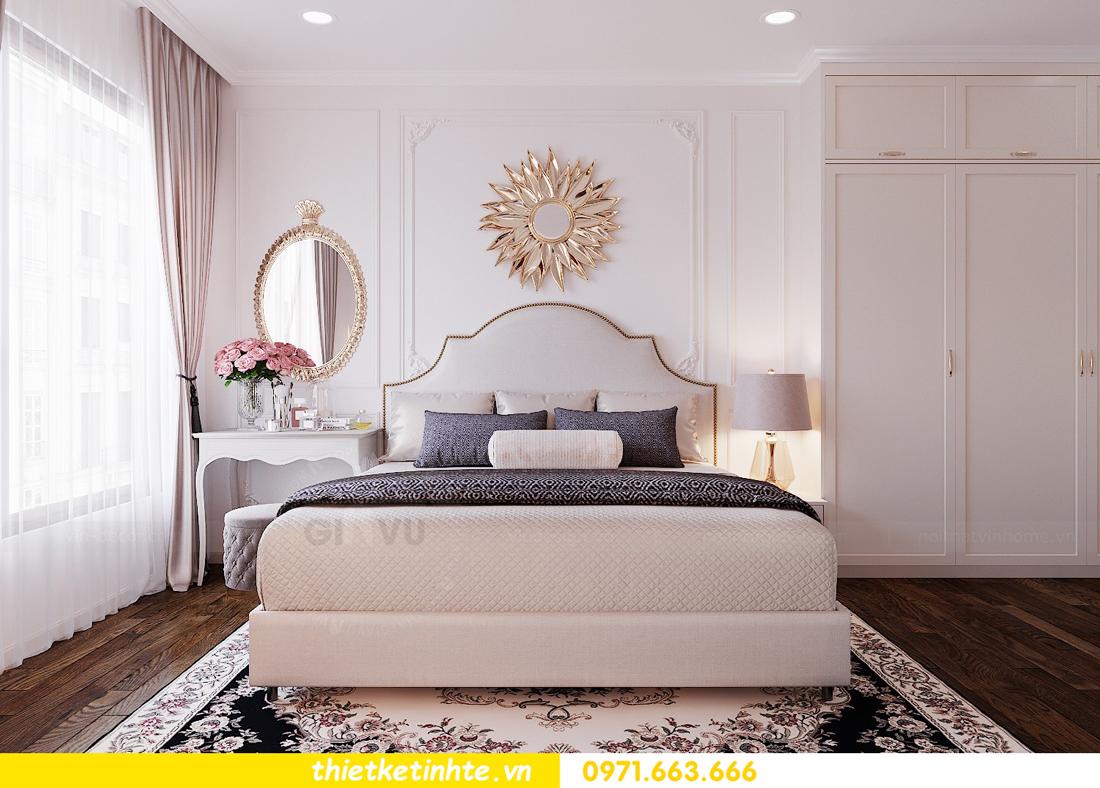 thiết kế nội thất căn 3 ngủ tòa C602 DCapitale 10