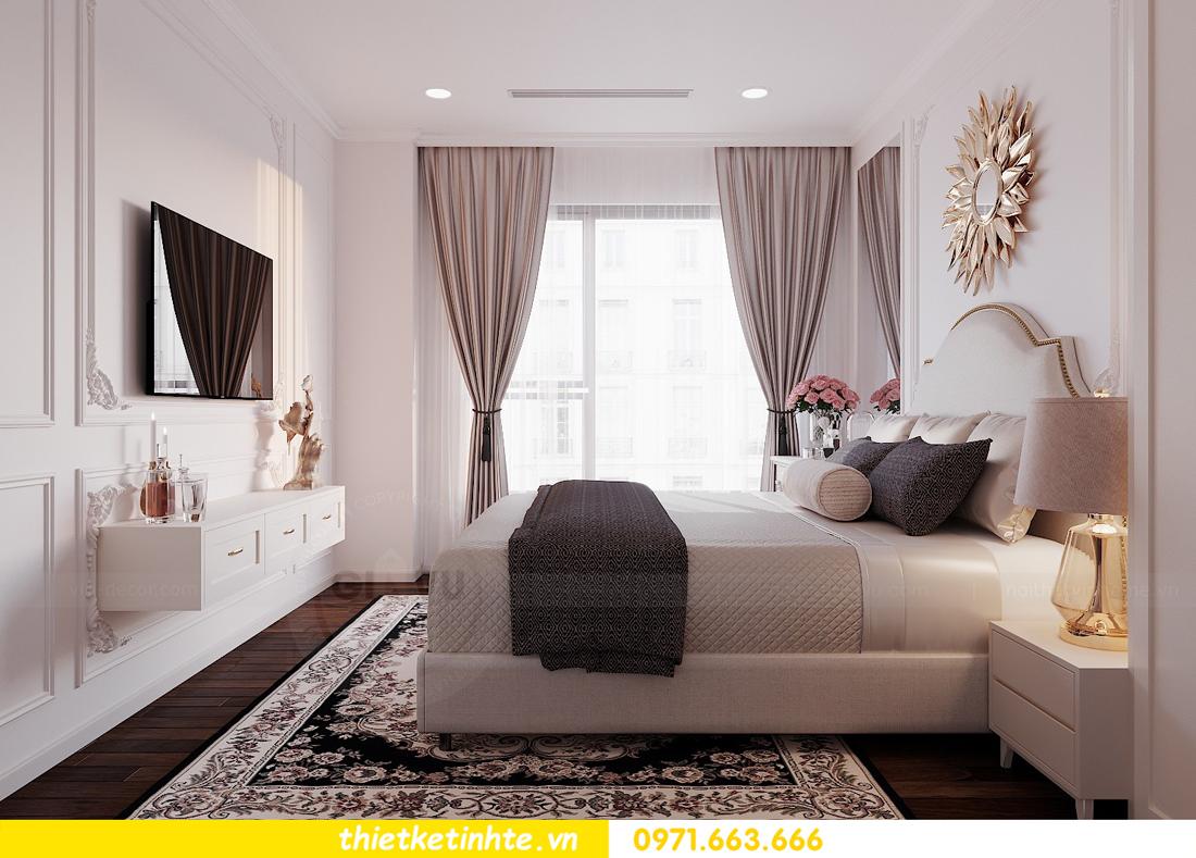 thiết kế nội thất căn 3 ngủ tòa C602 DCapitale 11