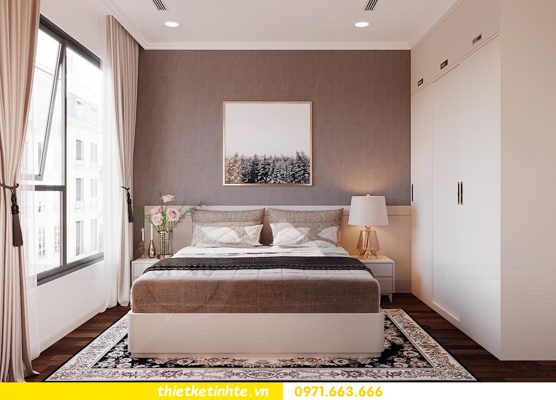 thiết kế nội thất căn 3 ngủ tòa C602 DCapitale 12