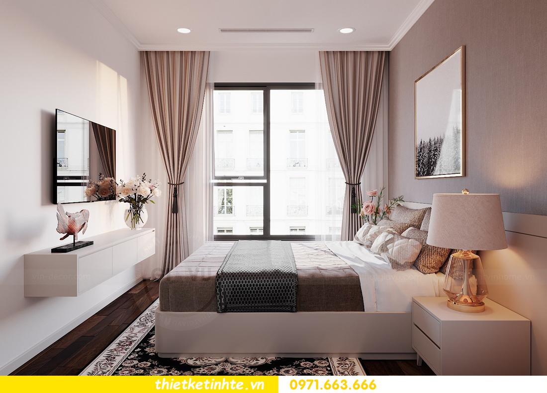 thiết kế nội thất căn 3 ngủ tòa C602 DCapitale 13
