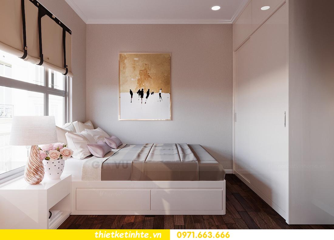 thiết kế nội thất căn 3 ngủ tòa C602 DCapitale 14
