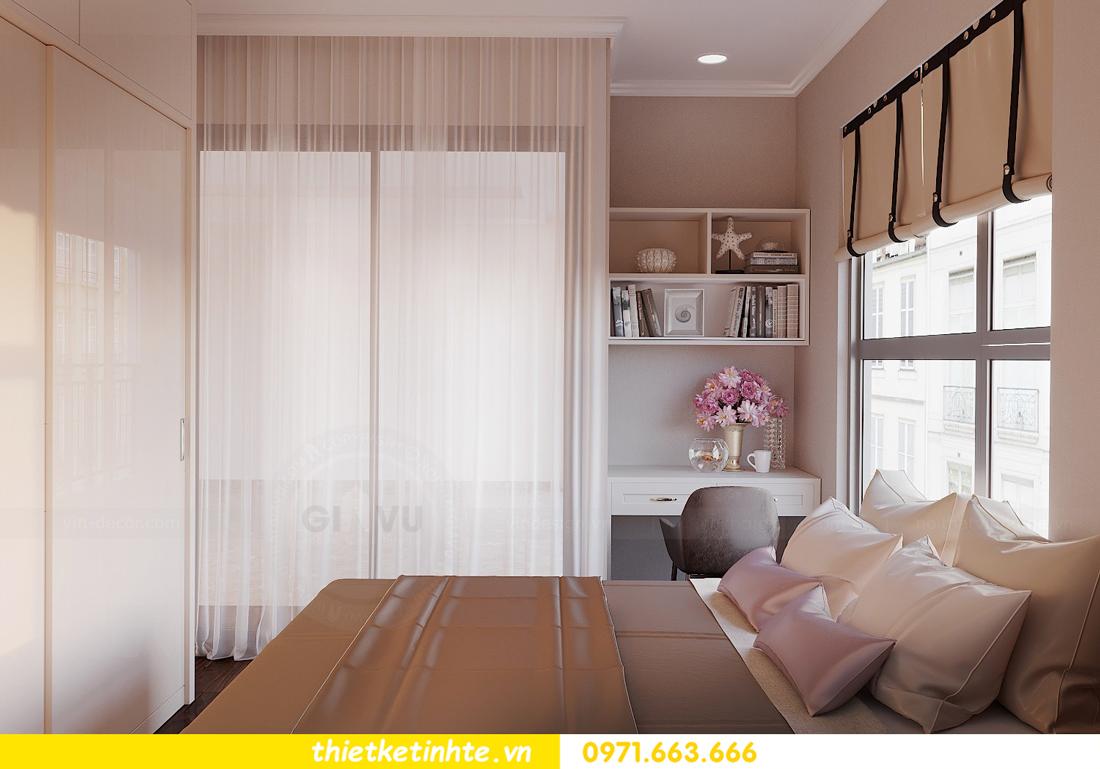 thiết kế nội thất căn 3 ngủ tòa C602 DCapitale 15
