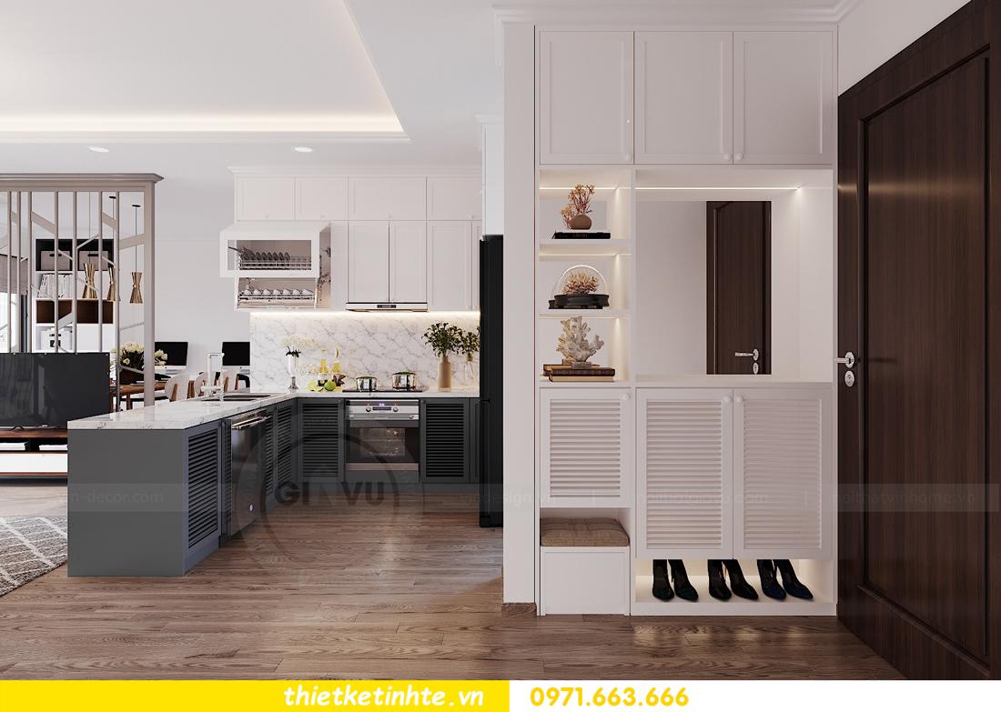 thiết kế nội thất căn hộ 3 phòng ngủ C103 Vinhomes DCapitale cô Lan 1