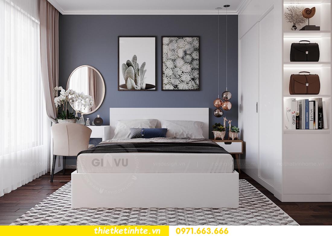 thiết kế nội thất căn hộ 3 phòng ngủ C103 Vinhomes DCapitale cô Lan 6