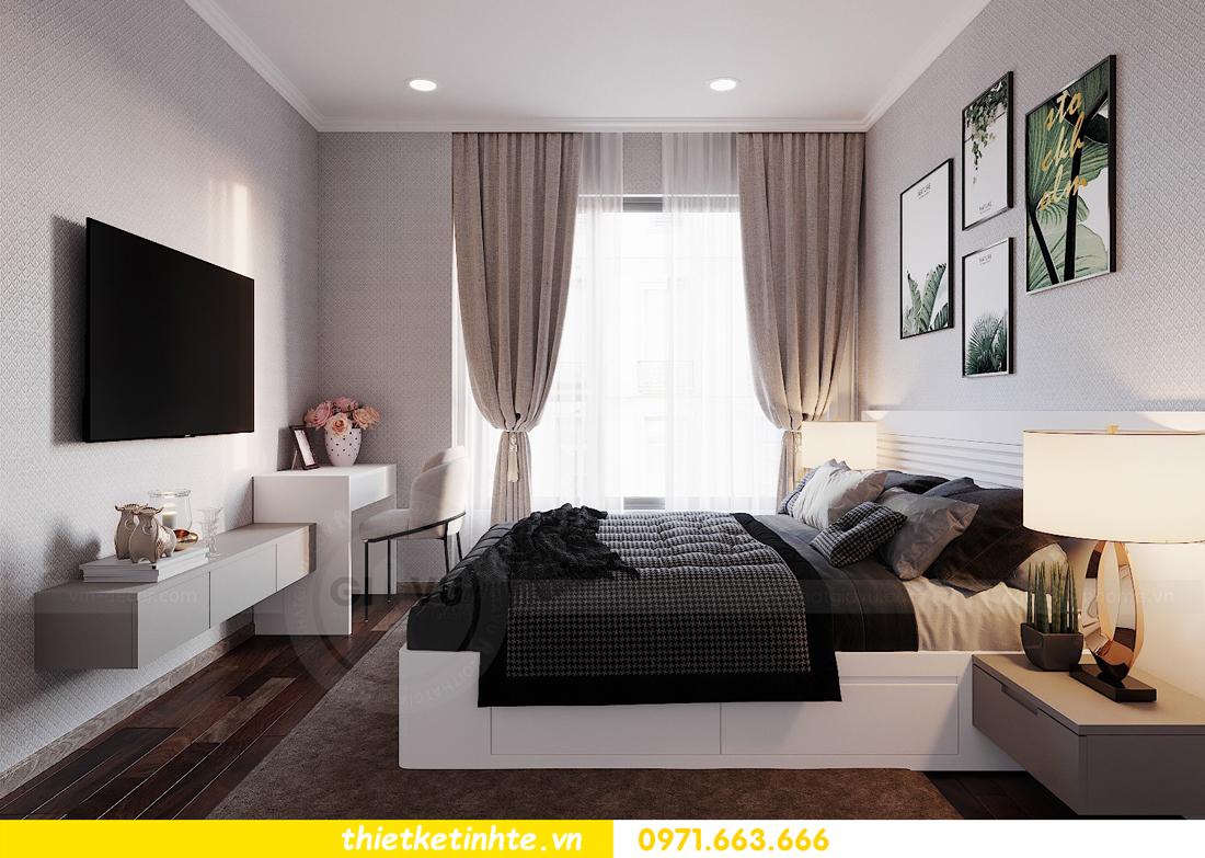 thiết kế nội thất căn hộ 3 phòng ngủ C103 Vinhomes DCapitale cô Lan 9