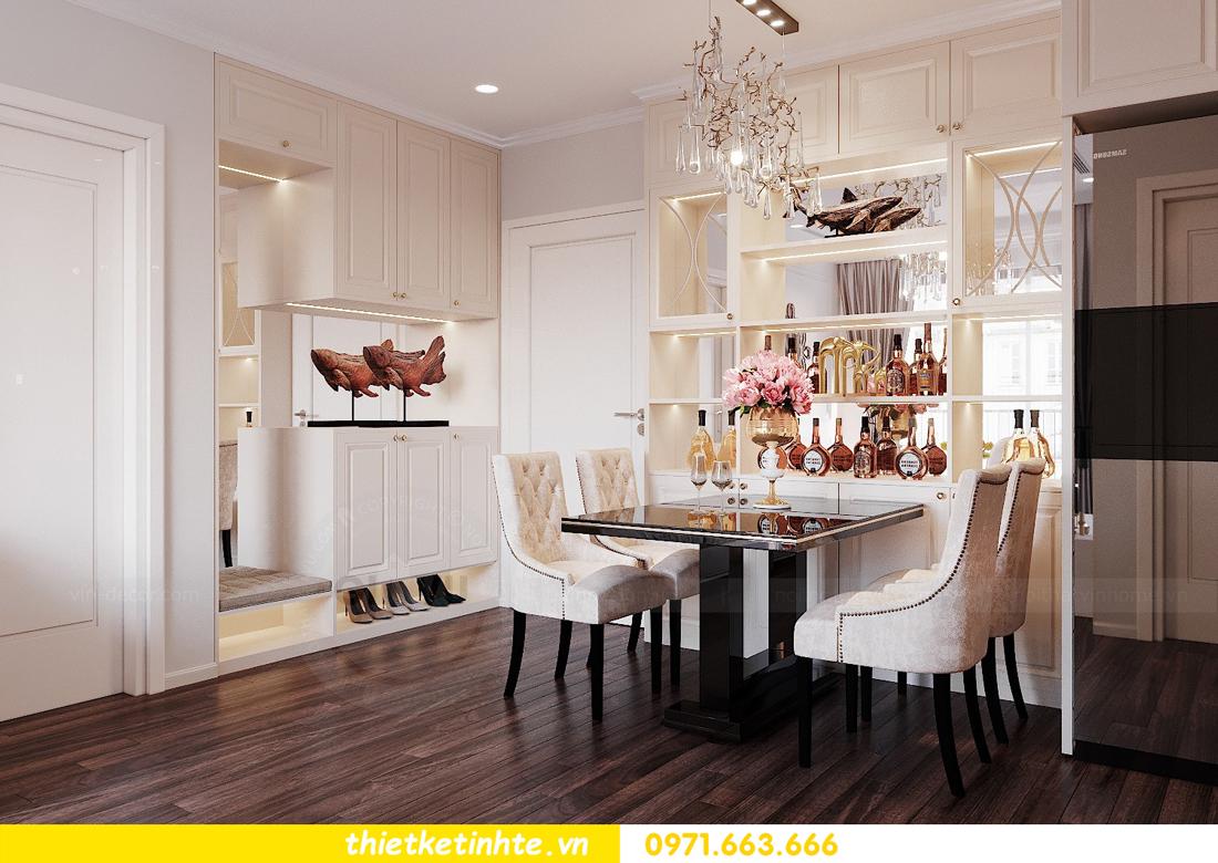 thiết kế nội thất chung cư DCapitale tòa C3 căn 02 nhà cô Lệ 01