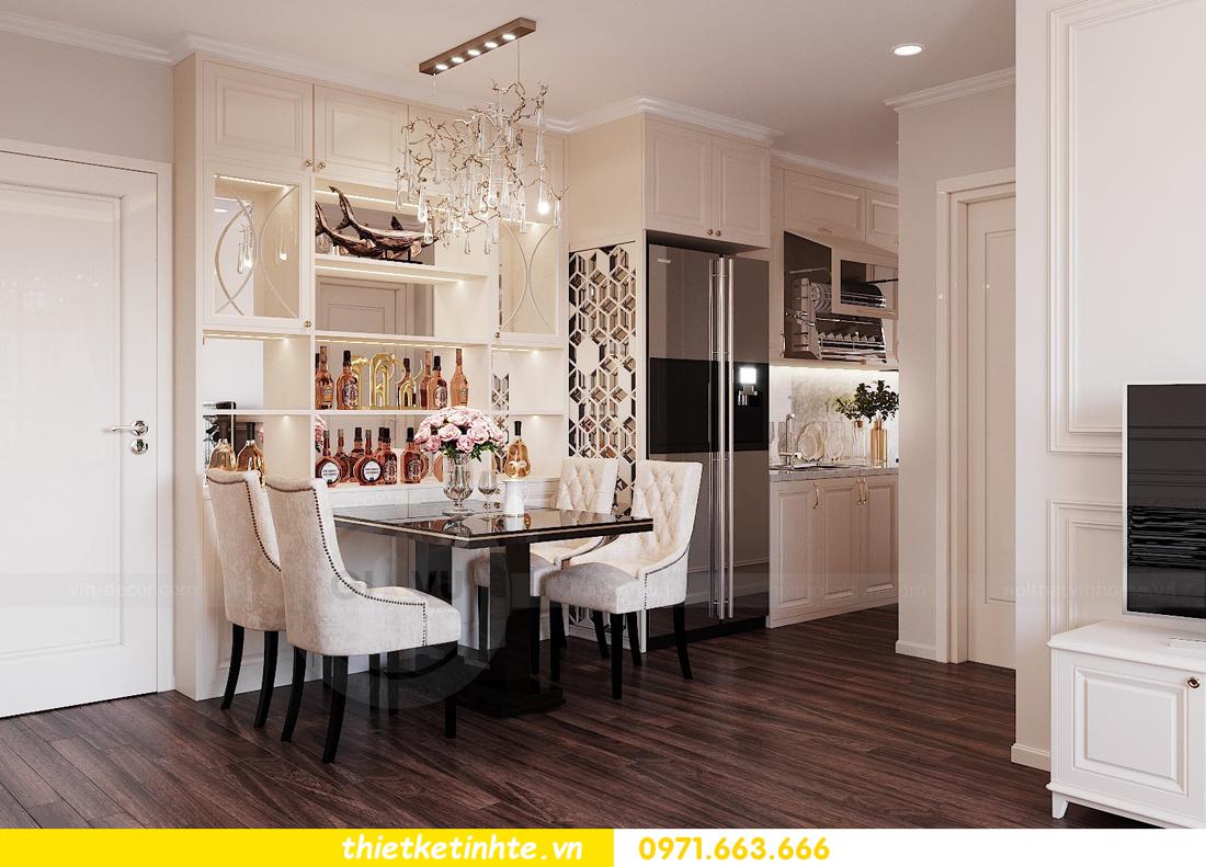 thiết kế nội thất chung cư DCapitale tòa C3 căn 02 nhà cô Lệ 02
