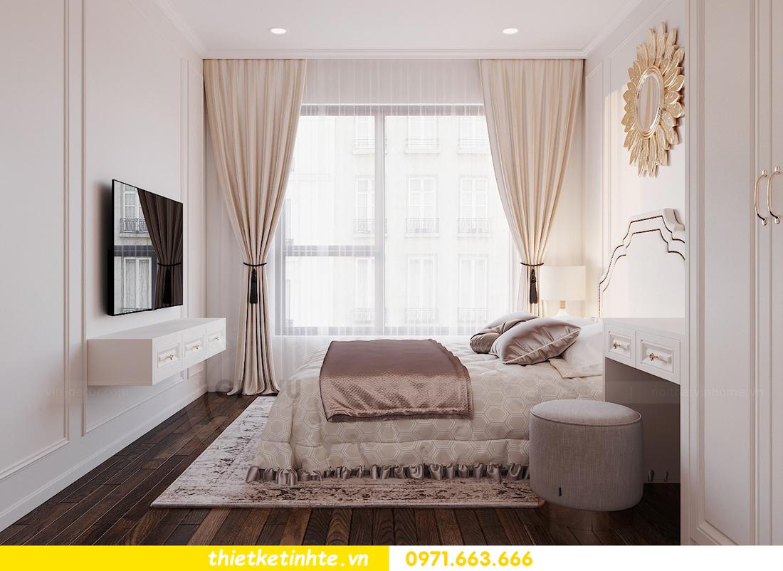 thiết kế nội thất chung cư DCapitale tòa C3 căn 02 nhà cô Lệ 07
