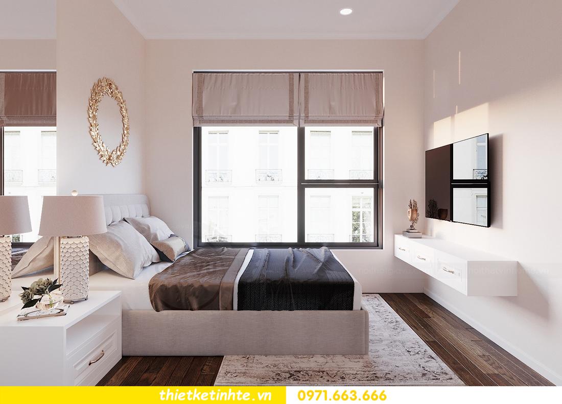 thiết kế nội thất chung cư DCapitale tòa C3 căn 02 nhà cô Lệ 09