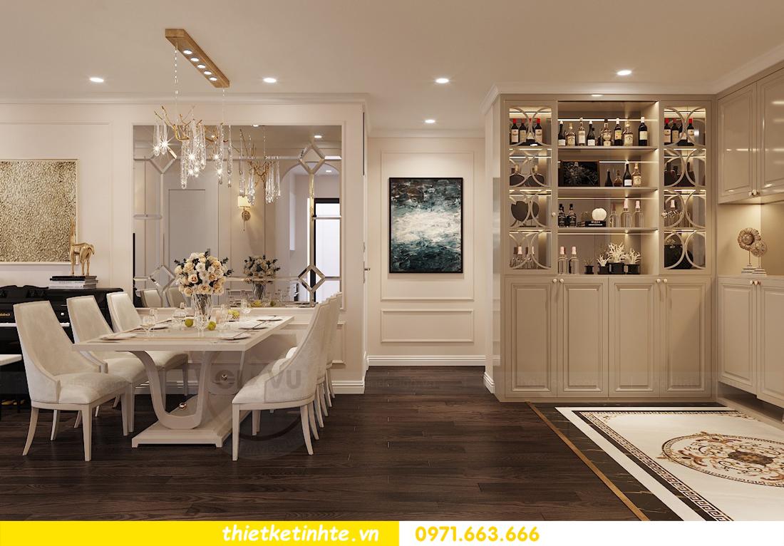 Thiết kế nội thất Luxury tại chung cư Park Hill nhà anh Thắng 1