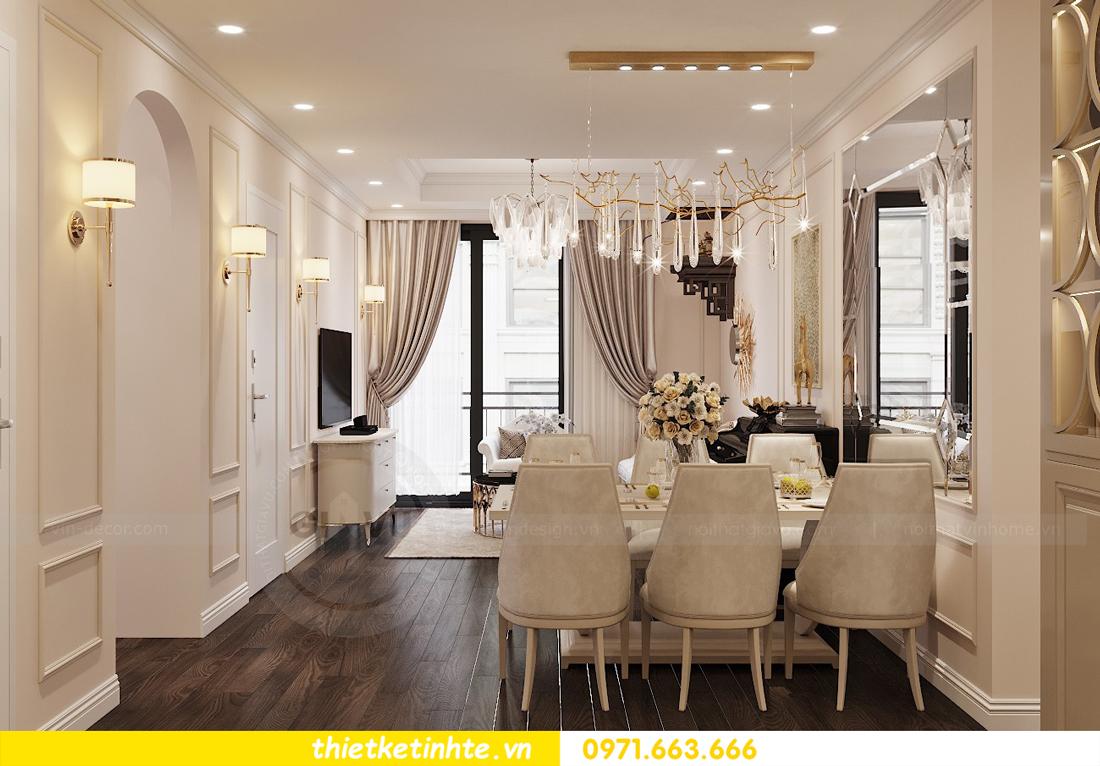 Thiết kế nội thất Luxury tại chung cư Park Hill nhà anh Thắng 2