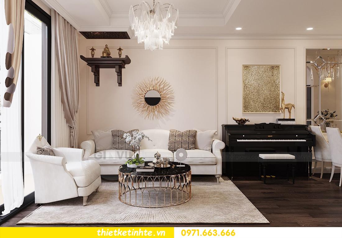 Thiết kế nội thất Luxury tại chung cư Park Hill nhà anh Thắng 3