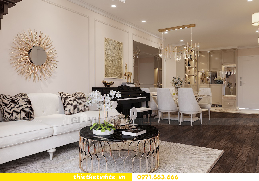 Thiết kế nội thất Luxury tại chung cư Park Hill nhà anh Thắng 4