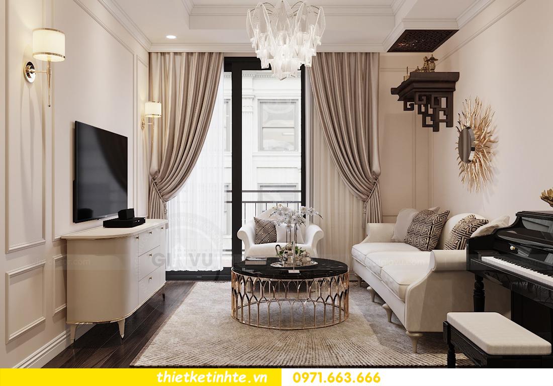 Thiết kế nội thất Luxury tại chung cư Park Hill nhà anh Thắng 5