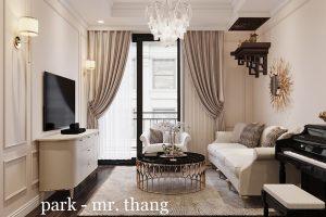 Thiết Kế Nội Thất Luxury Tại Vinhomes Park Hill Nhà Anh Thắng