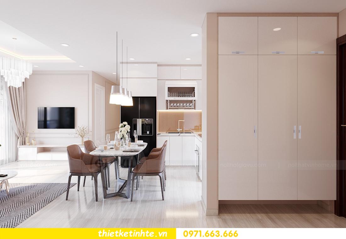 mẫu thiết kế nội thất chung cư 2 phòng ngủ đẹp sang trọng 1