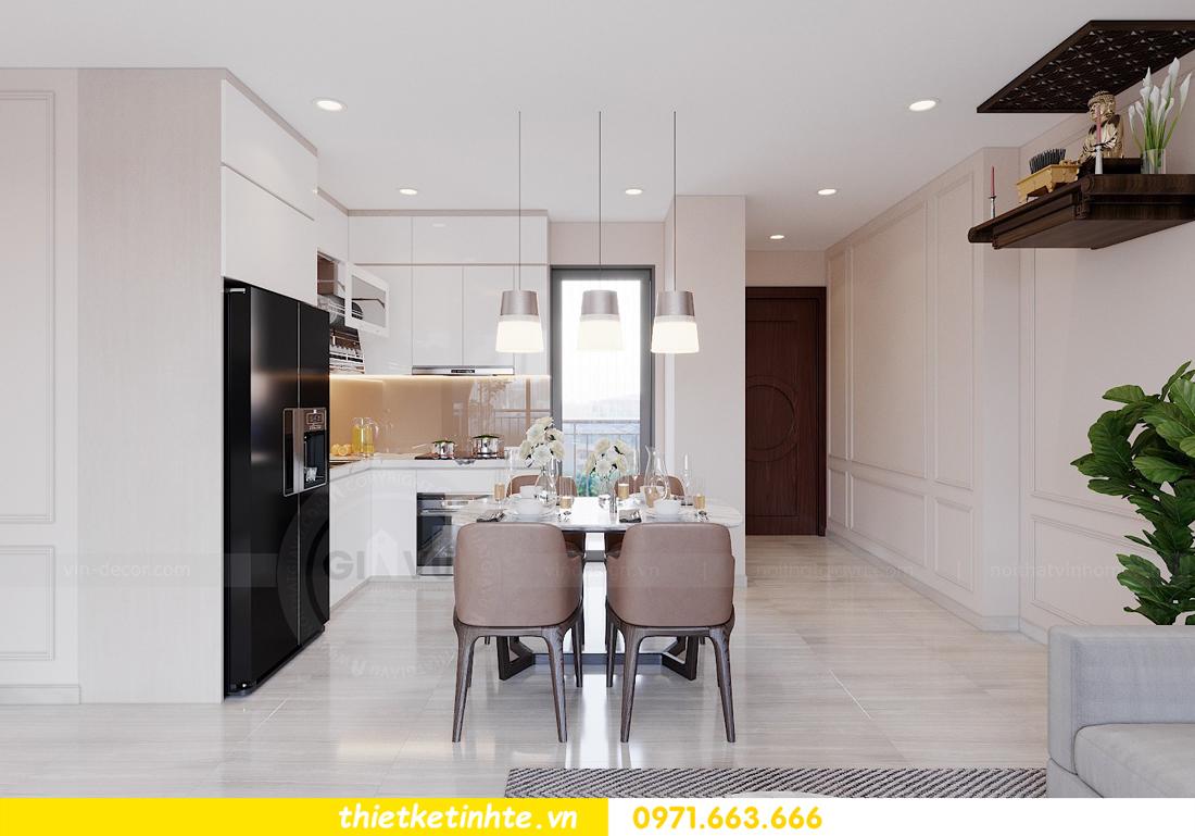 mẫu thiết kế nội thất chung cư 2 phòng ngủ đẹp sang trọng 2