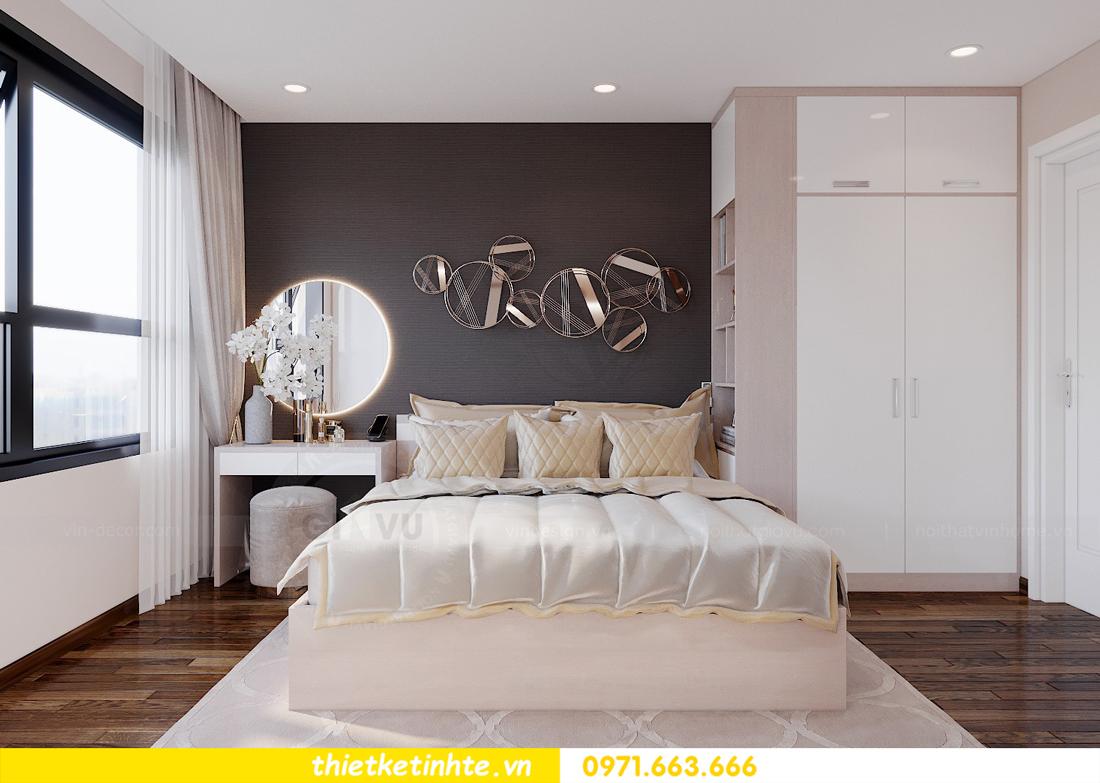 mẫu thiết kế nội thất chung cư 2 phòng ngủ đẹp sang trọng 6