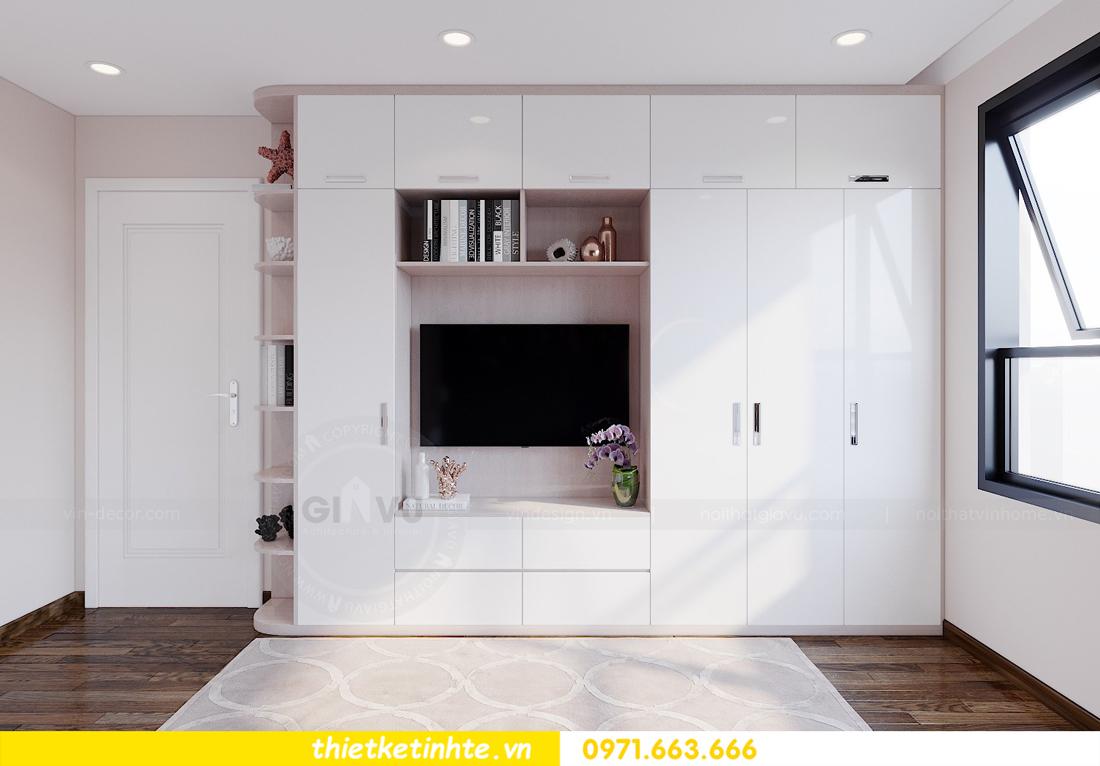 mẫu thiết kế nội thất chung cư 2 phòng ngủ đẹp sang trọng 7