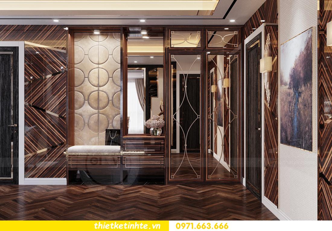 thiết kế nội thất chung cư cao cấp tinh tế tới từng nét vẽ 1
