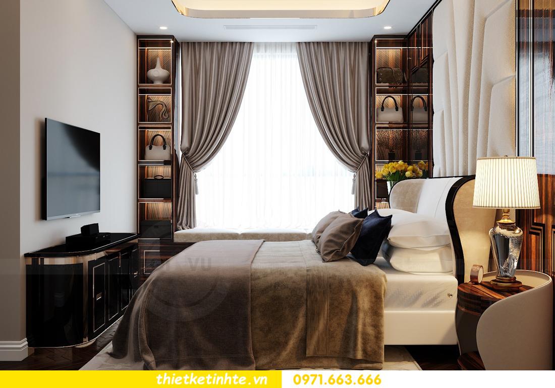 thiết kế nội thất chung cư cao cấp tinh tế tới từng nét vẽ 10