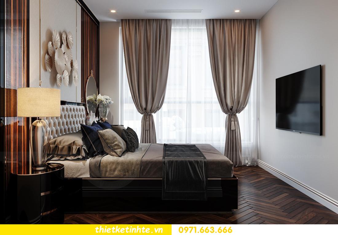 thiết kế nội thất chung cư cao cấp tinh tế tới từng nét vẽ 12