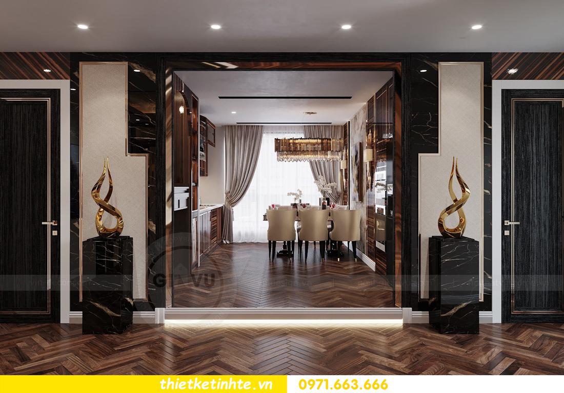 thiết kế nội thất chung cư cao cấp tinh tế tới từng nét vẽ 5