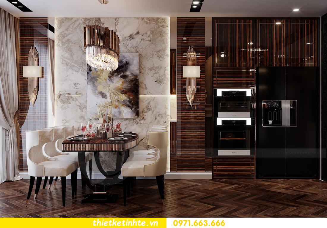 thiết kế nội thất chung cư cao cấp tinh tế tới từng nét vẽ 6