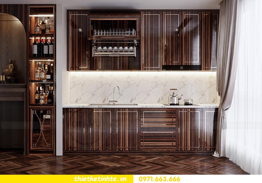 thiết kế nội thất chung cư cao cấp tinh tế tới từng nét vẽ 7