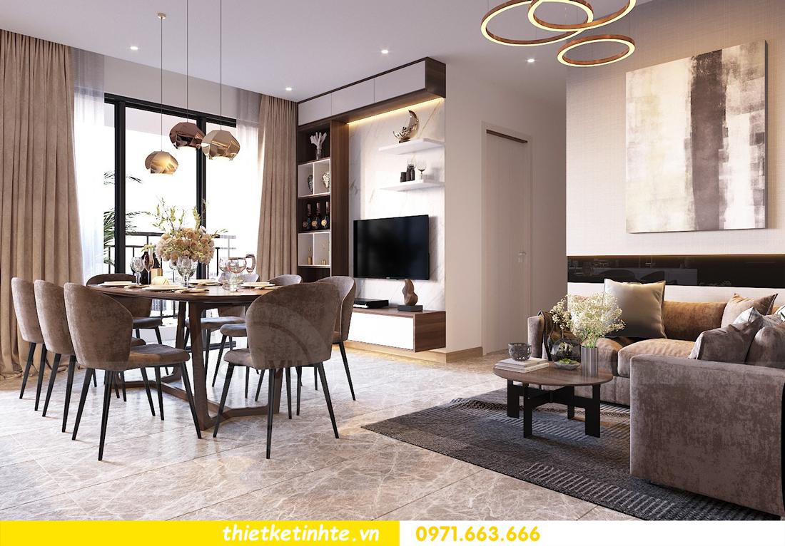 thiết kế nội thất chung cư DCapitale tòa C1 căn 09 nhà chị An 3