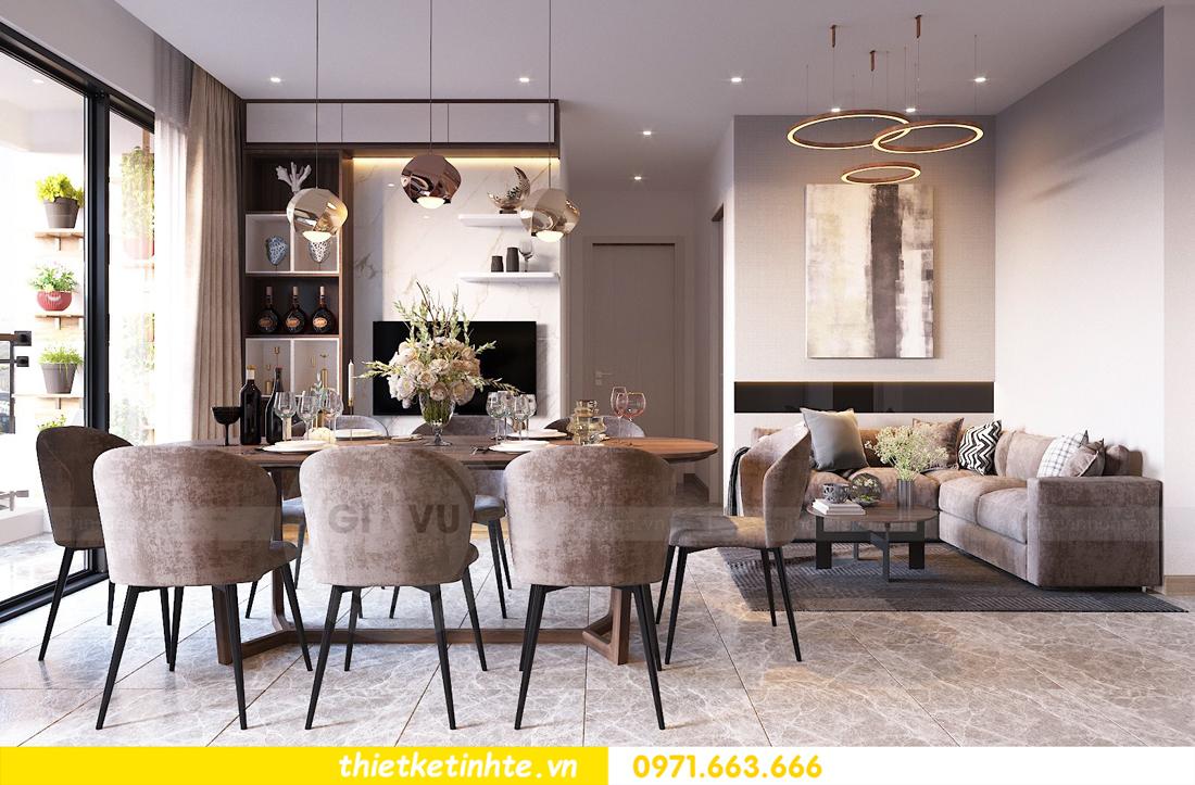 thiết kế nội thất chung cư DCapitale tòa C1 căn 09 nhà chị An 4