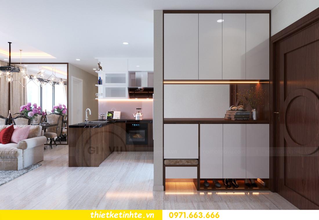 thiết kế nội thất chung cư DCapitale tòa C3 căn hộ 09 1
