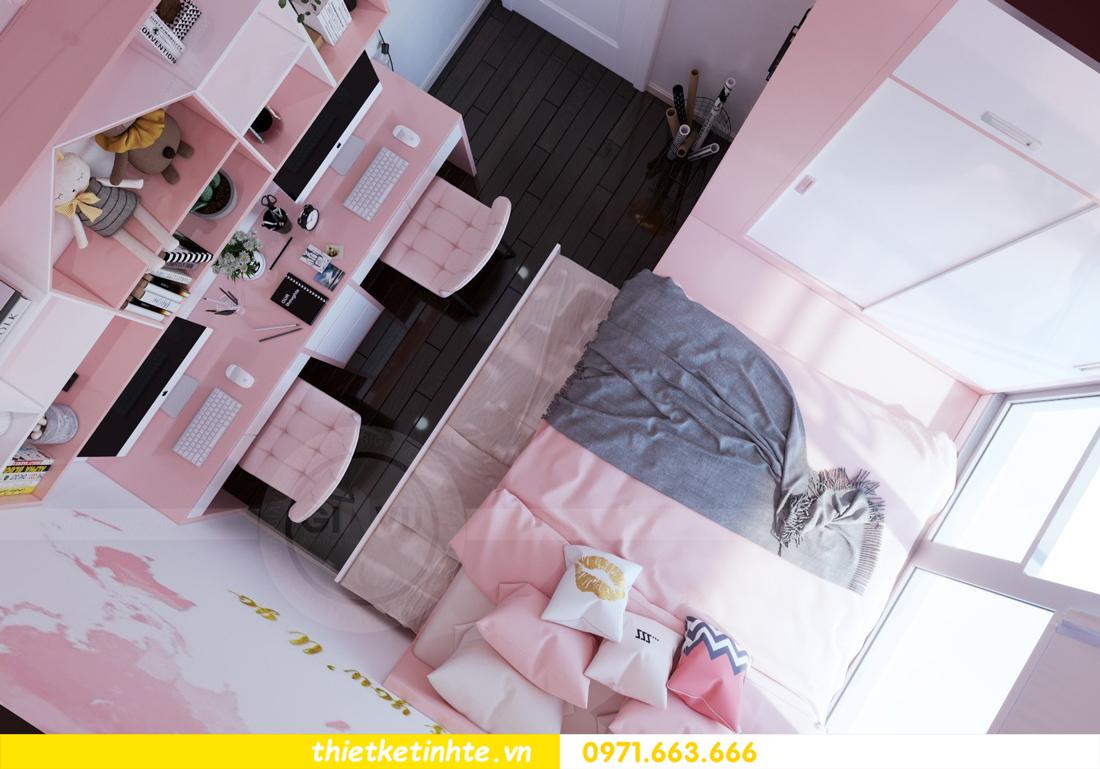 thiết kế nội thất chung cư DCapitale tòa C3 căn hộ 09 10