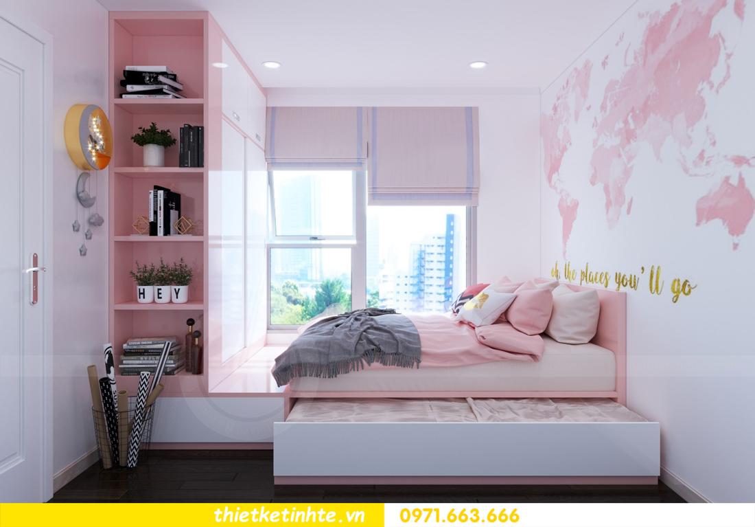 thiết kế nội thất chung cư DCapitale tòa C3 căn hộ 09 11